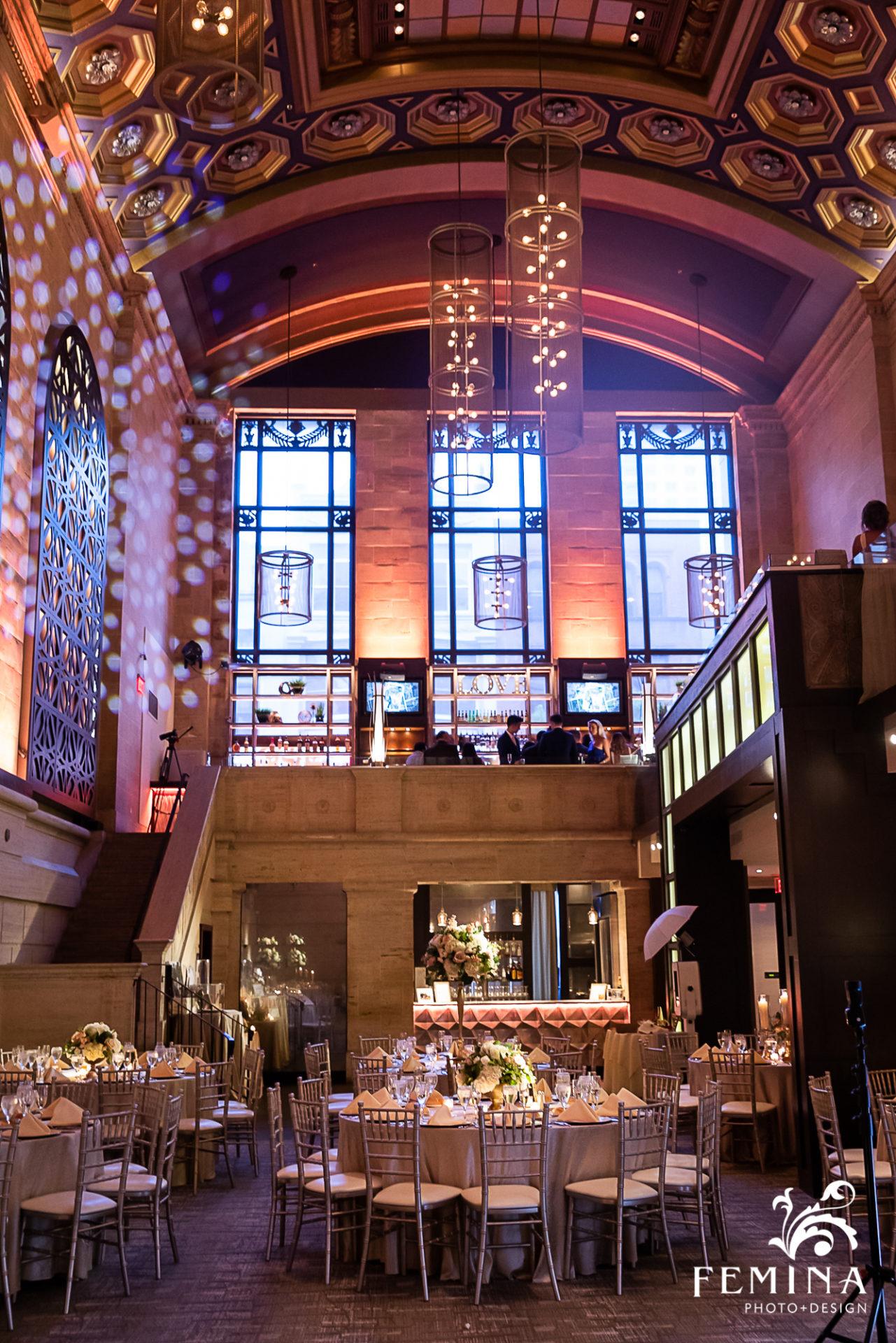 Union Trust Wedding Venue Photographer