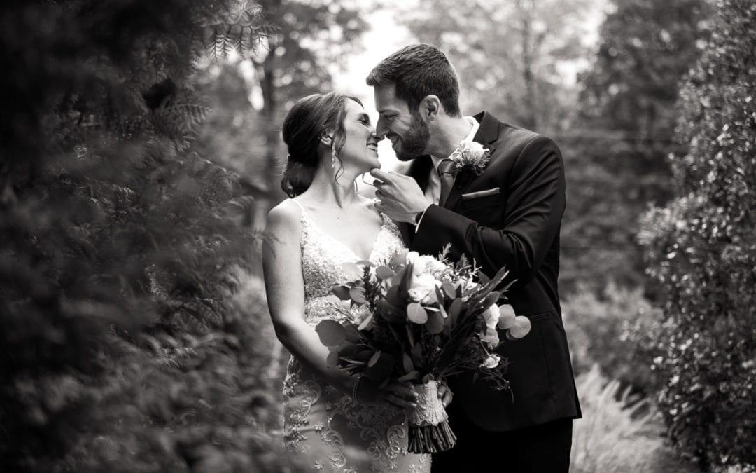Melissa + Evan   Lake House Inn Wedding
