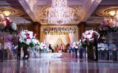 Trisha + Maxim | Crystal Tea Room Philadelphia Wedding