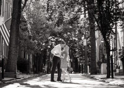 Rittenhouse Philadelphia Engagement Photography